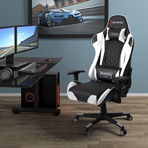 Devoko Racing Style Ergonomic Gaming Chair Findthetop10 Com