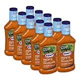 Kraft Calorie Wise French Dressing, 475mL (Pack of 10)