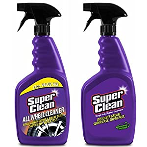 Super Clean Tough Task Cleaner/Degreaser 32oz & SuperClean All Wheel Cleaner 32oz. 2 pack