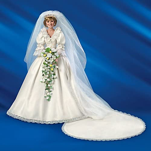 Princess Diana Collector S Edition Porcelain Bride Doll By The Bradford Exchange Amazon Ca Home Kitchen