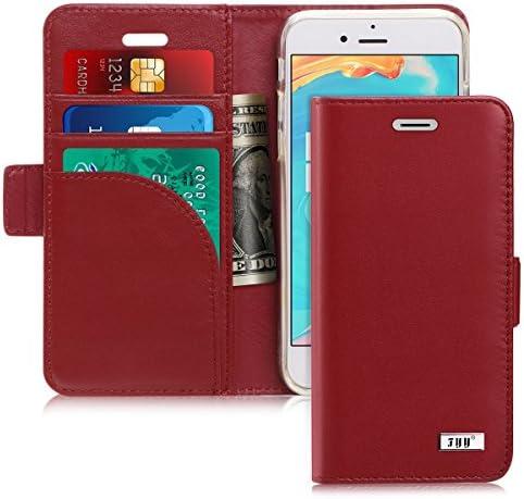 [해외]FYY 케이스 아이폰 8아이폰 7 [RFID 차단 지갑] PU 가죽 지갑 케이스 신용 카드 보호 아이폰 78 플러스(4.7) / FYY [Genuine Leather] Case for iPhone 8 iPhone 7 (4.7 inch) 2016, [RFID Blocking] [ Kickstand] Flip Folio Wallet CaseCredit Car...