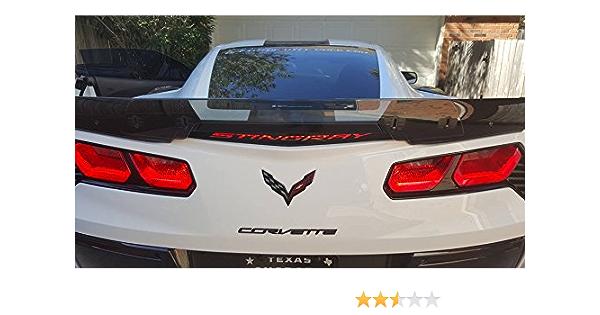 Corvette 3rd Third Brake light Vinyl Decal Sticker  05 06 07 08 09 10 11 12 13