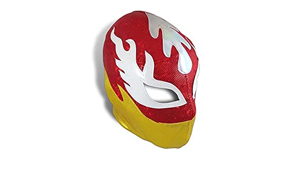 Amazon.com: Luchador de Fuego Mexican Pro-Wrestling Lycra Mask- Lucha Libre Mask: Sports & Outdoors