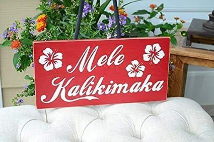 Hawaiian Merry Christmas.Amazon Com Mele Kalikimaka Hawaiian Merry Christmas