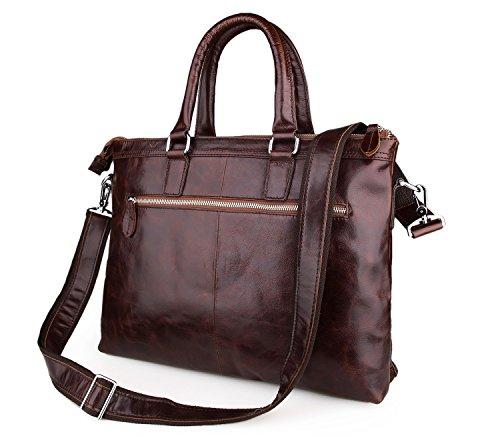 E-Bestar sac à main en cuir sac épaule sac serviette sac document sac PC portable sac ordinateur portable