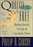 Crosby evaluates the progress of his original quality management principles and includes his maturity grid for companies to use in assessing the successes and failures in their own organizations