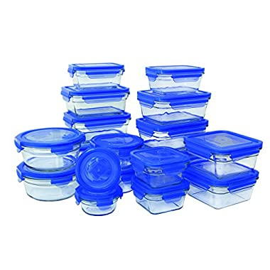 Glasslock 36 Piece Oven Safe Assortment Set