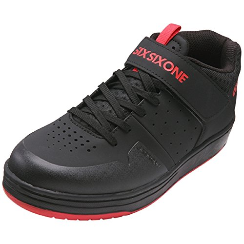 SIXSIXONE Filter SPD Chaussures, Black, 43/10