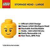 LEGO Storage Head, Large, Silly, 9-1/2 x 9-1/2 x