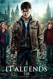 Harry Potter Deathly Hallows Part II - Movie Flyer Poster- 11 x 17