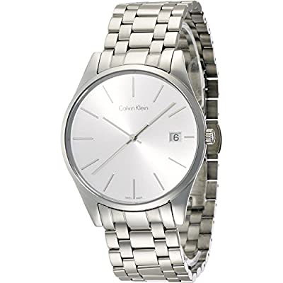Calvin Klein K4N21146 Silver Dial Stainless Steel Men's Watch