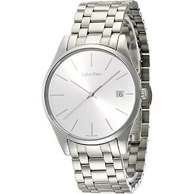 Calvin Klein K4N21146 Silver Dial Stainless Steel Men's Watch