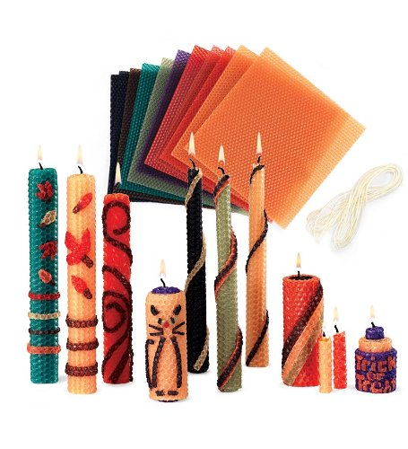 Autumn Beeswax Candle Rolling Kit