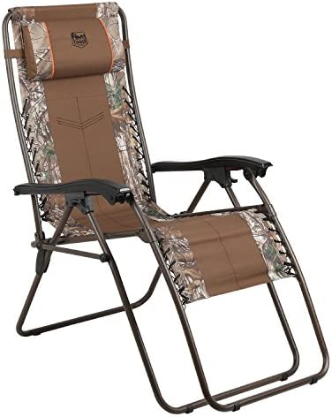 Timber Ridge Baobab Zero Gravity Lounger Patio Recliner Chair, Camouflage