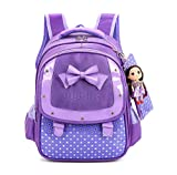 Mojing Elementary School bags Kids Sweet Princess Cute Backpack for Girls