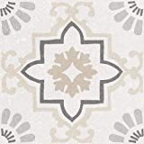 25 piezas Colecci/ón Coralstone Nais Color Gamut Grey Antislip 20x20 cm Baldosas cer/ámicas para suelos - Caja de 1 m2