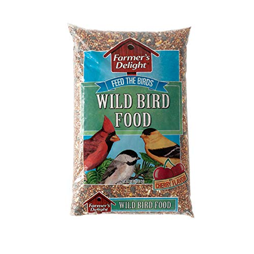 Wagner's 53001 Farmer's Delight Wild Bird Food With Cherry Flavor, 4-Pound ()