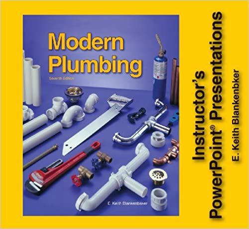 Modern Plumbing Instructor's PowerPoint Presentations - Individual License