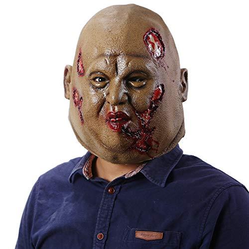 Jiu Ya Da Dui Halloween Scary Adult Bloody Zombie Mask Horror Walking Dead Cosplay Masks