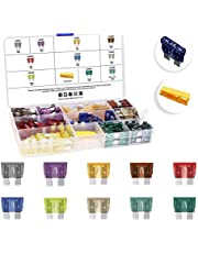 MulWark 120pc Standard Car Fuses Assortment Kit, Blade-type Automotive Fuses - 2A 3A 5A 7.5A 10A 15A 20A 25A 30A 35A-ATC/APR/ATO Assorted Auto Replacement Fuses for Car/RV/Truck/Motorcycle/Boat