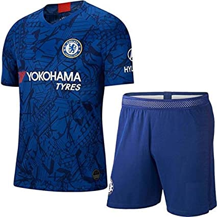 buy online a50fc 105ed GOLDEN FASHION Non Chelsea Home Football Jersey KIT 2019-20