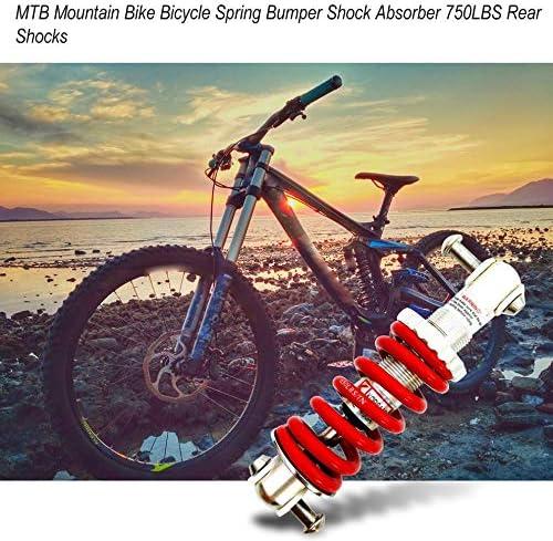 Tikafr - Amortiguador de Parachoques de Muelle para Bicicleta de ...