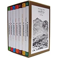 Pictorial Guide To the Lakeland Fells Collection 7 Books Set By Alfred Wainwright (50th Anniversary Edition)