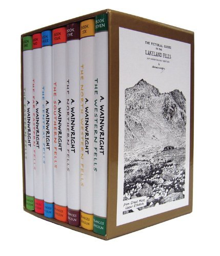 Wainwright Pictorial Guides Boxed Set (Pictorial Guides to the Lakeland Fells) - Mall Lakeland The