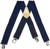 McGuire-Nicholas 112 2-Inch Blue Suspenders