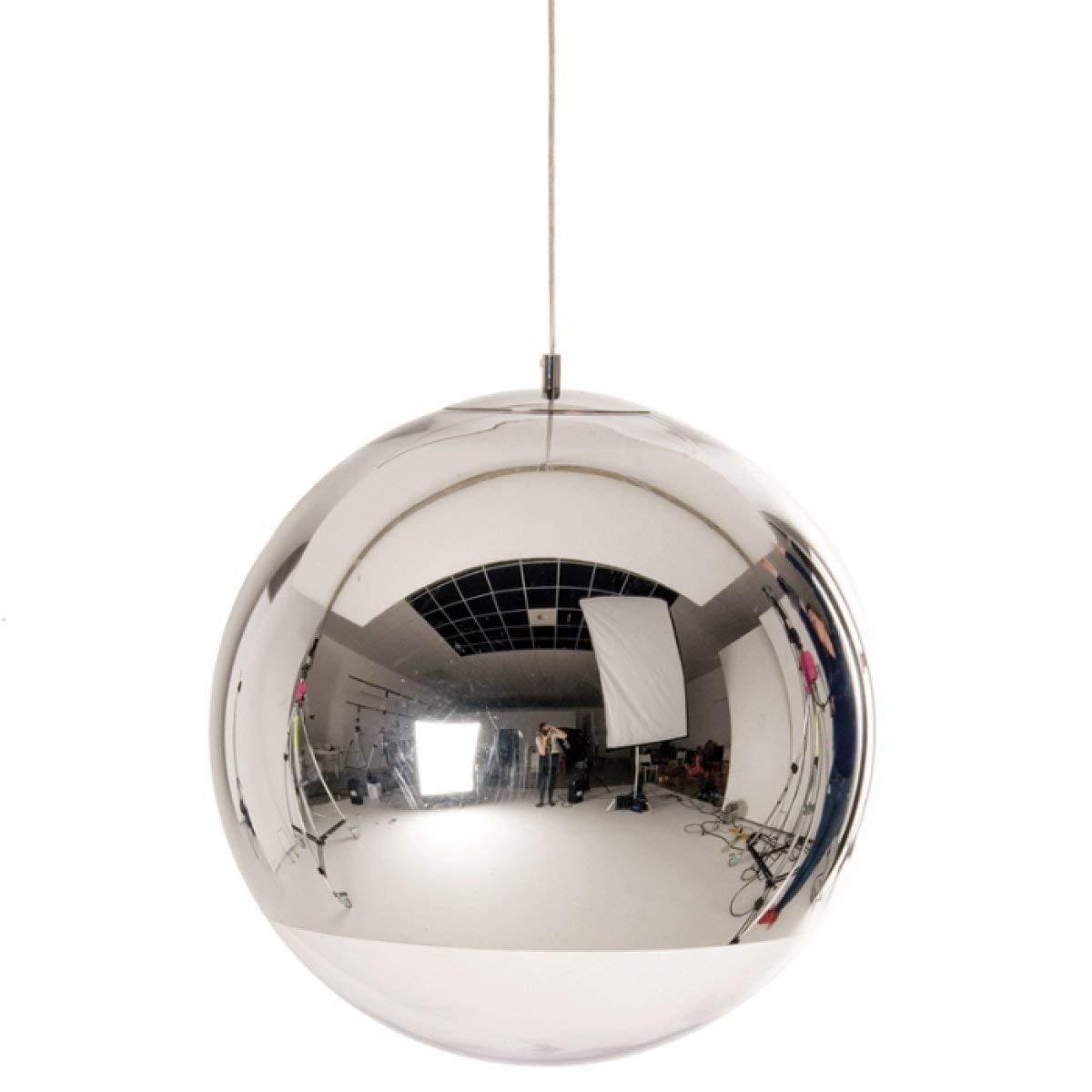 Eeayyygch Kupfer Glas Spiegel Decke Kronleuchter Lichter Kithen Esszimmer Insel Pendelleuchte Für Wohnzimmer Schlafzimmer Arbeitszimmer, 20 cm (Farbe   40Cm)