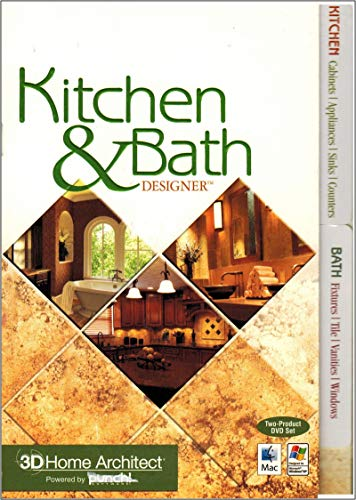 Punch! 3D Home Architect Kitchen & Bath Designer