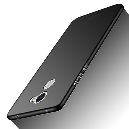 Newlike Thin Pudding Cover for Huawei Y7 Prime/Enjoy 7 Plus (Black)
