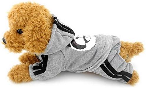 ae7536a0f Amazon.com   Ranphy Small Dog Fleece Sweatshirt Hoodie Puppy ...