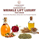 Amberry Ayurveda Age Repair Anti-Aging Night Cream with Saffron And Rose Water, Herbal Cream Fights Wrinkles & Even Tone…