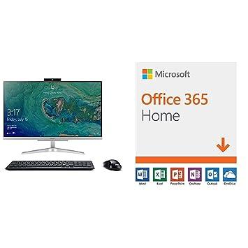 Amazon.com: Acer Aspire C24-865-ACi5NT AIO Desktop, 23.8 ...