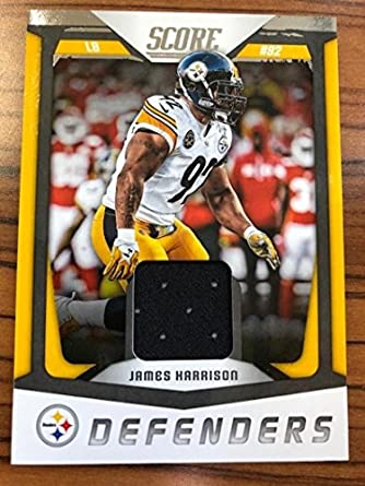 huge selection of a409f 39efa Amazon.com: 2018 Score Defenders #23 James Harrison ...