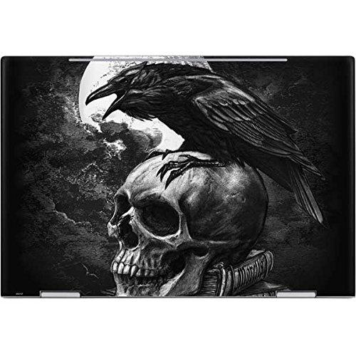 Skinit Skull & Bones Envy x360 15t (2018) Skin - Alchemy - Poe's Raven Design - Ultra Thin, Lightweight Vinyl Decal Protection by Skinit (Image #1)