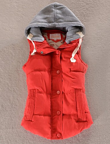 6XL All Colors Vest Red Down Women'S Hooded ZHUDJ Match Fashion More SFwzZnqO
