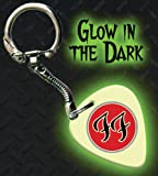 Printed Picks Company Foo Fighters FF Glow In The Dark Premium Guitar Pick Keyring