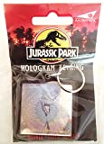 Jurassic Park Velociraptor Hologram Key Chain 1992 In Original Package