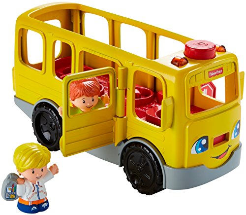 514Kf0LPhgL - Fisher-Price Little People Sit with Me School Bus Vehicle