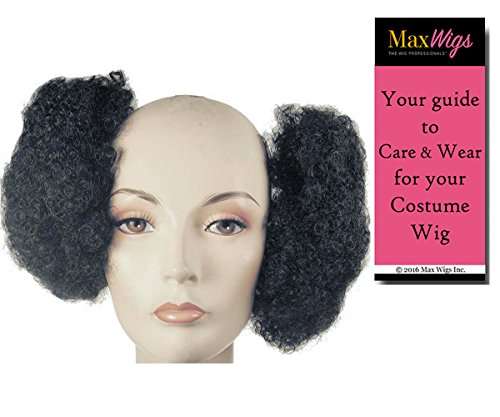 Afro Puffs 60s Color Black - Lacey Wigs
