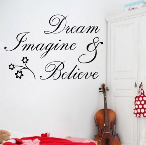 Newsee Decals Imagine Believe Sticker product image
