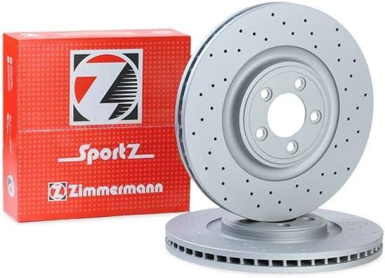 Zimmermann 290 2264 52 Bremsscheibe Scheibenbremsen Bremsscheiben X2 Auto