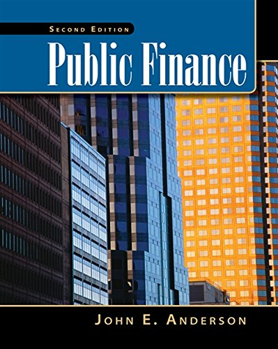 Public Finance (with InfoTrac 2-Semester and Economic Applications Printed Access Card) (Upper Level Economics Titles)