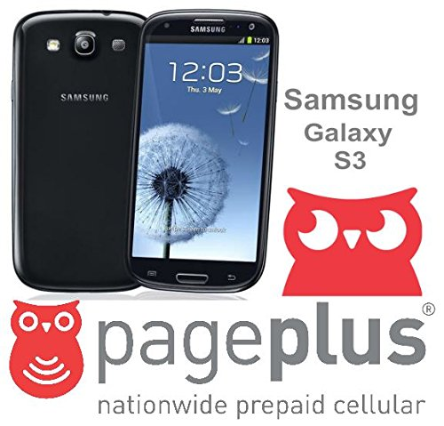 Samsung Galaxy S3 S III 16GB (i535) for PAGE PLUS - SAPPHIRE BLACK - 4G LTE SPEEDS!