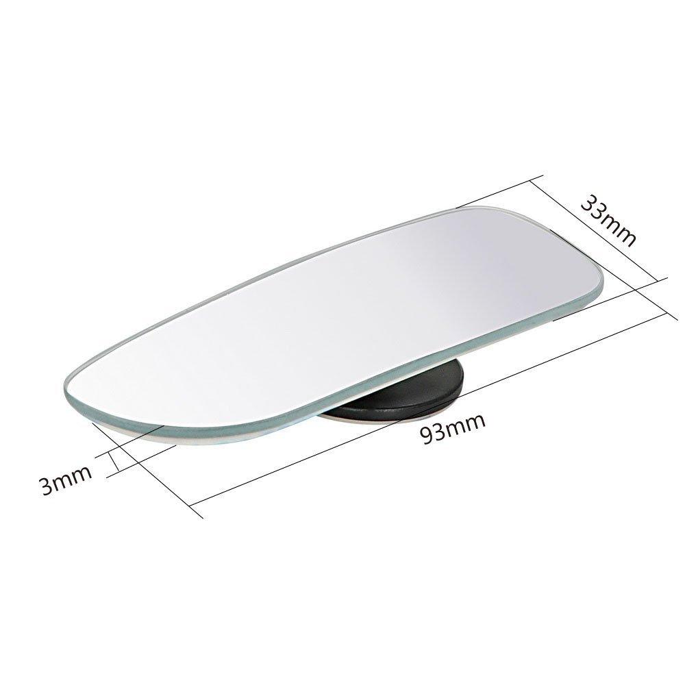 Espejo retrovisor para coche con espejos de /ángulo amplio