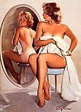 Wall Calendar 2020 [12pages 8'X11'] Pinup Sexy Girl Elvgren Vintage Pin Up Fifties M537