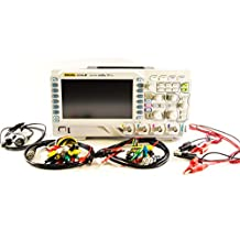 Rigol DS1054Z Digital Oscilloscope (50 Mhz, 4 Channel, 1GS/S Sampling Rate) & Test Lead Kit By Electronix Express