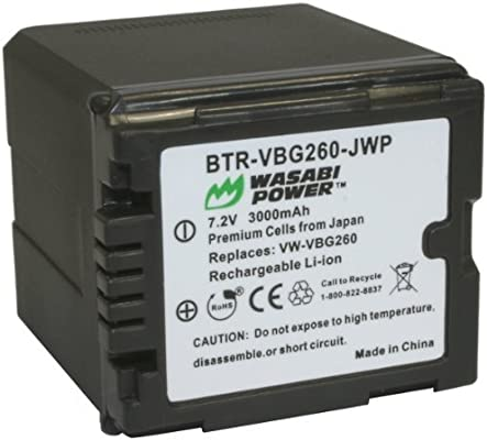 Li-ion batería para Panasonic Hdc-sd900 Hdc-sd800 New Premium calidad